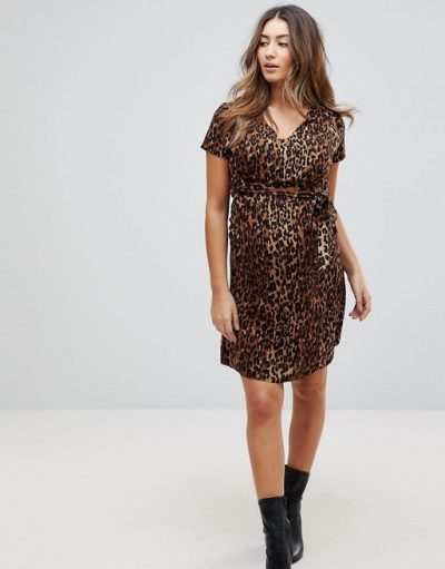 Maternity Nursing Leopard Dress