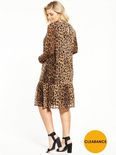 Plus Junarose Leopard Dress