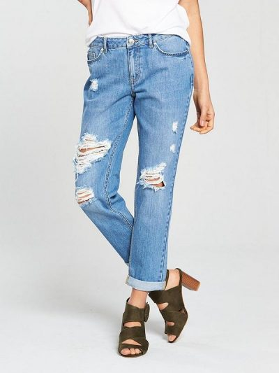 Emerie Ripped Boyfriend Jeans