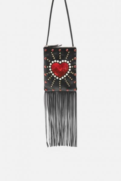 Love Heart Tassel Bag
