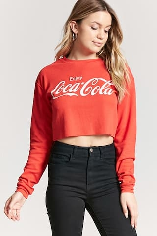 Crop Cola Sweater