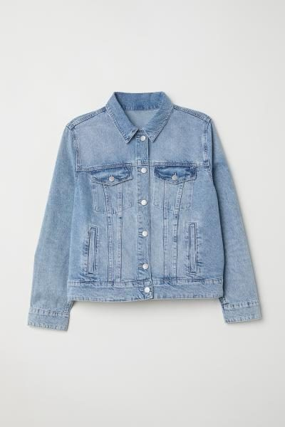 Plus Denim Jacket