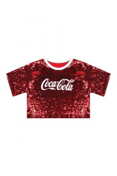 Sequin Coca Cola Tee