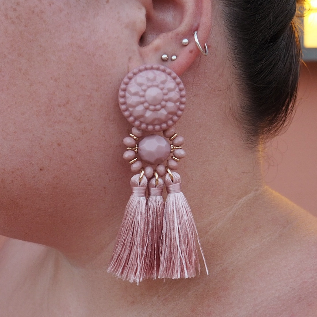 H&M tassel earrings