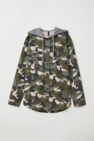 Hooded Camo Jacket
