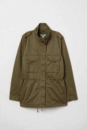 H&M plus khaki jacket