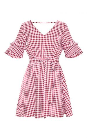 Gingham Tea Dress