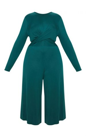 Plus Emerald Jumpsuit