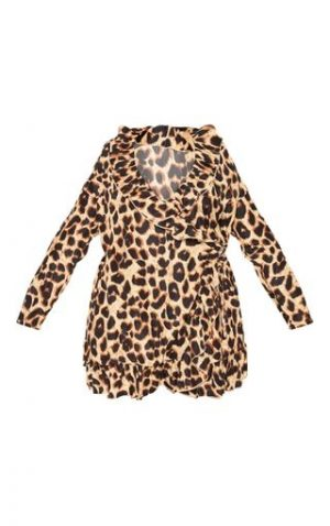 Plt Plus Leopard Dress