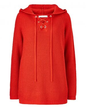 Red Sporty Hoody