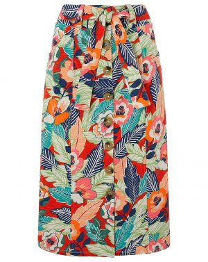 Monsoon Printed Skirt