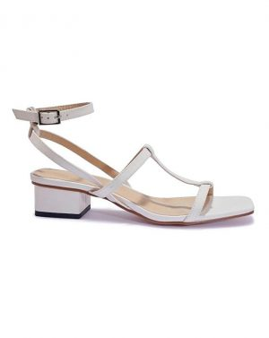 Square Toe Block Heel Sandal