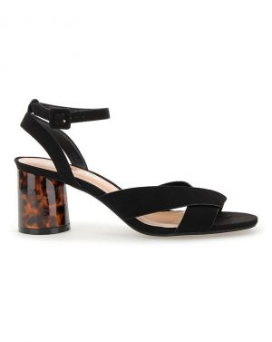 Belle Ankle Strap Low Heel