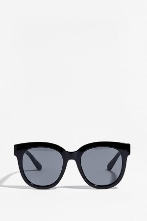 Come And See Me Tinted Square Sunglasses