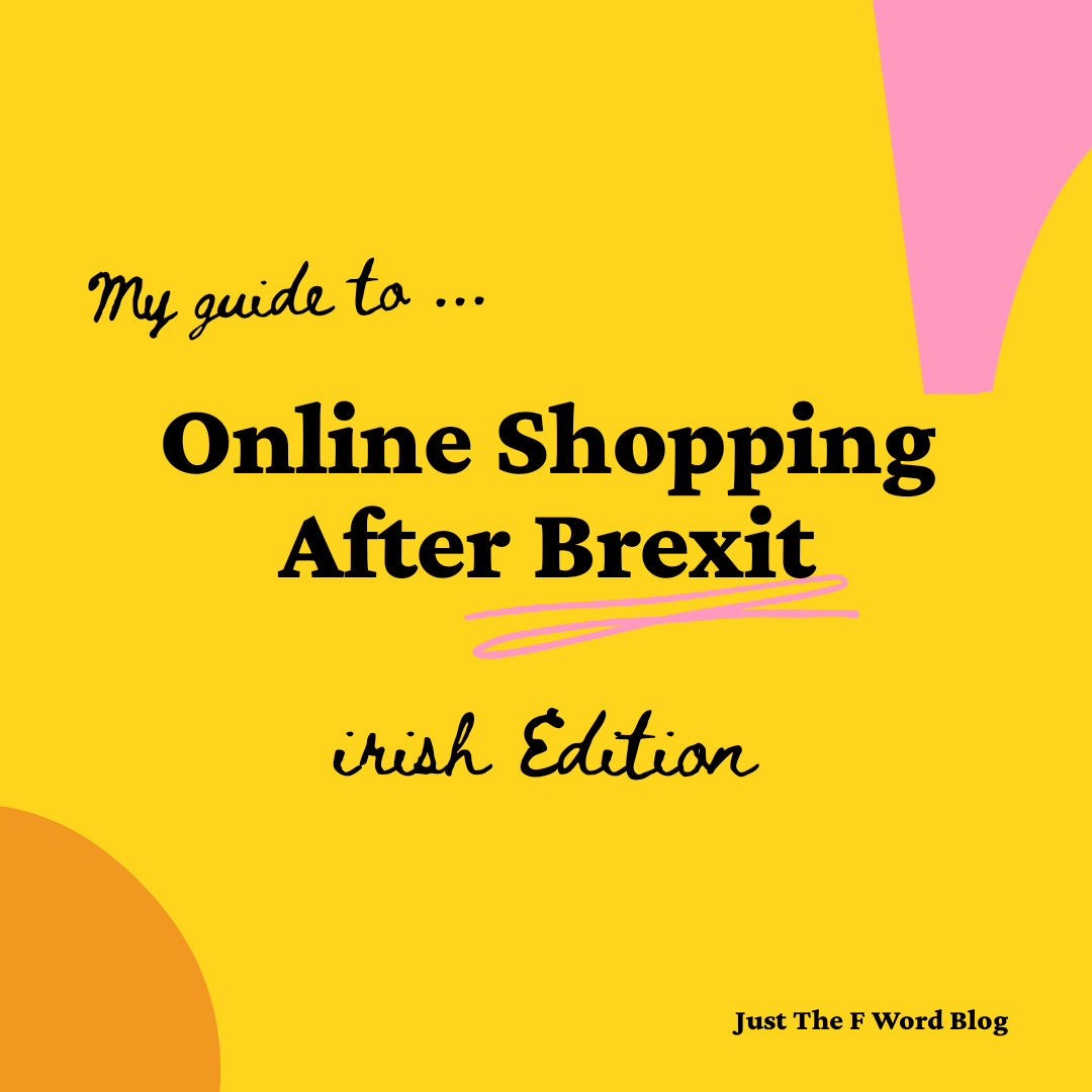 Online Shopping In Ireland After Brexit